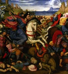 The pilgrim as the warrior. From: https://ballandalus.files.wordpress.com/2014/02/nahtutsactionfig08-1341590208.jpg